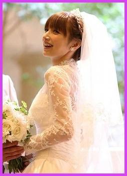 後藤真希さんの結婚式